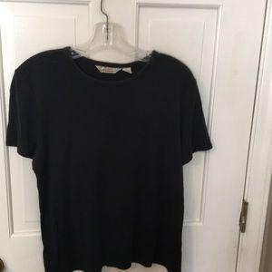 Tommy Bahama XL Black silk/cotton T-shirt